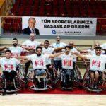 ASAT Spor Tekerlekli Sandalye Basketbol Takımı Süper Ligde